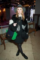 Rosie Fortescue at THREE FLOOR SS15 Collection Preview