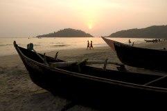 A deserted beach in Thailand