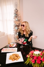 Carly Cristman at Home for Christmas