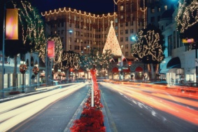 Rodeo Drive is magical at Christmas