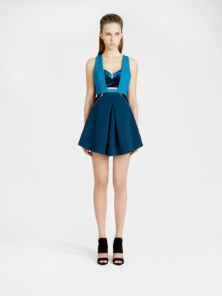 THREE FLOOR Blue Noise Dress