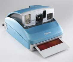 What's that...a Polaroid..the original instant camera
