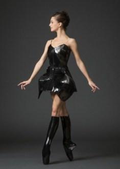 """New York City Ballet dancer Lauren Lovette in Iris Van Herpen's costume for Benjamin Millepied's """"Neverwhere"""
