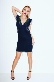 Roxy Horner in THREE FLOOR dress 2 The Arcadia Online