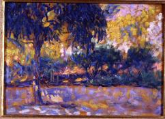 Henri Matisse - Landscape With Eucalyptus Trees and River 1908