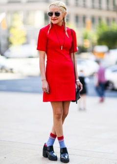 New York Fashion Week Bursting with Colour