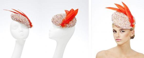Rosie Olivia Millinery Punik Hat