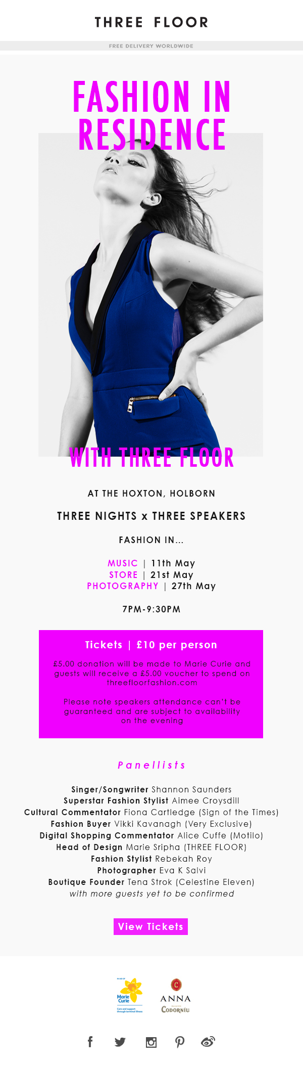 Fashion In Residence at The Hoxton, Holborn